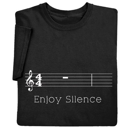 Enjoy Silence Shirts
