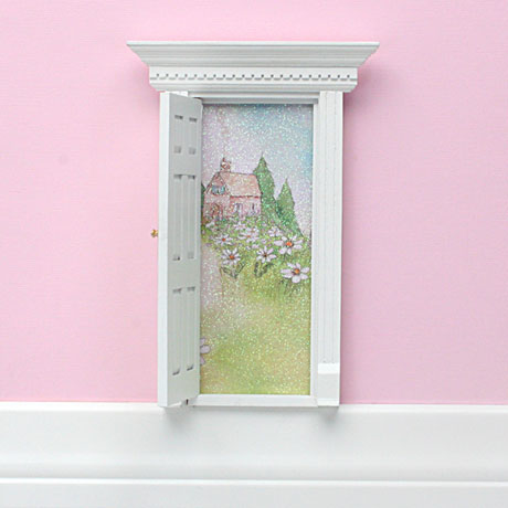 Tooth Fairy Door and Fairy Dust Kit