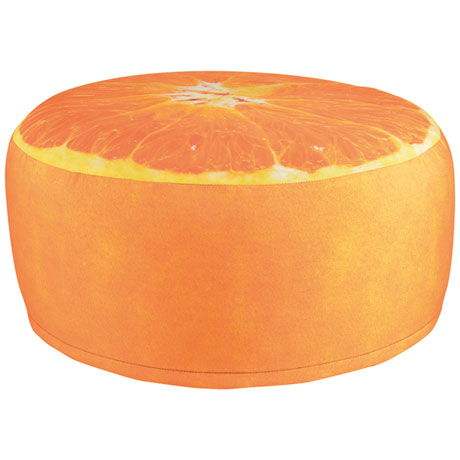 Orange Inflatable Stool
