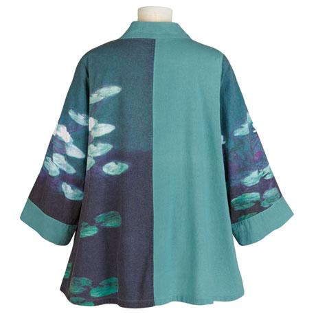 Water Lilies Swing Jacket