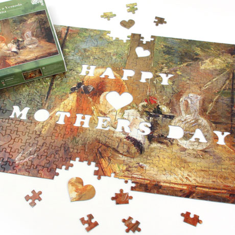 Mother's Day Puzzle - Red Hair Girl