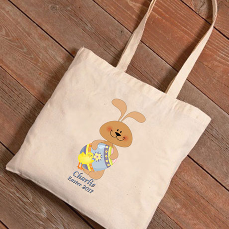 Personalized Easter Tote - Bunny