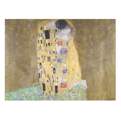 Klimt The Kiss Painting Set of 2 Shams