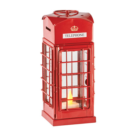 British Call Box Tea Light Lantern