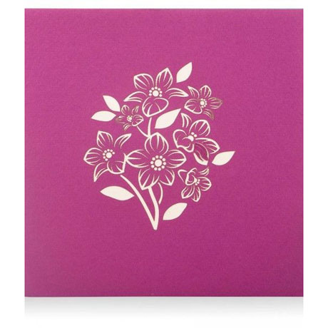 Floral Bouquet Lovepop Card