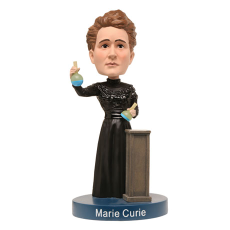 Bobbleheads for Brainiacs: Marie Curie