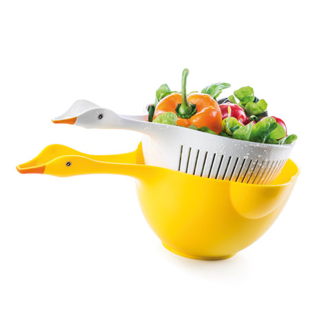 Goosey Bowl and Colander Set