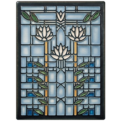 Frank Lloyd Wright® Waterlilies Art Tile