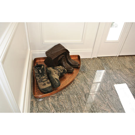 Galvanized Steel Boot and Shoe Tray