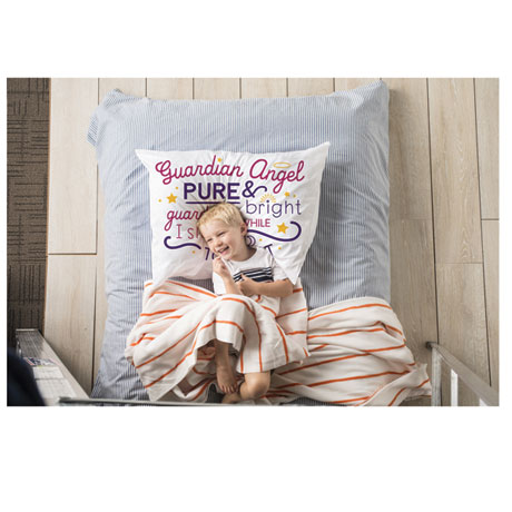 Guardian Angel Pillowcase