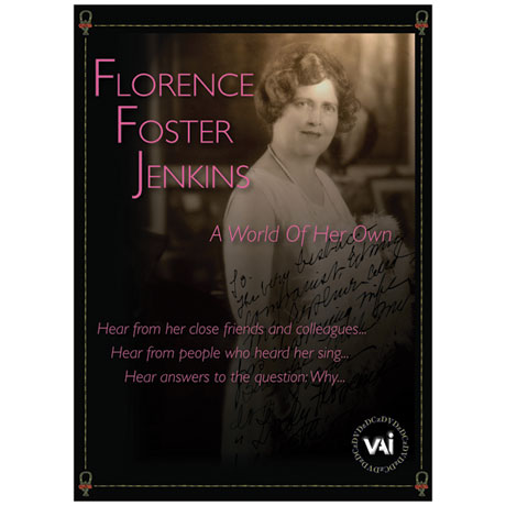 Florence Foster Jenkins: A World of Her Own DVD