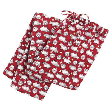 Sheep Dreams Flannel Pajamas