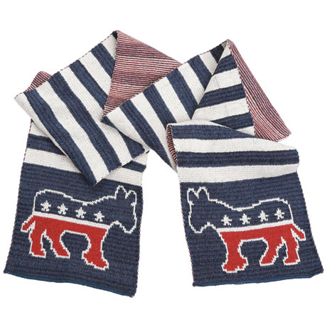 Democrat Recycled Cotton Scarf