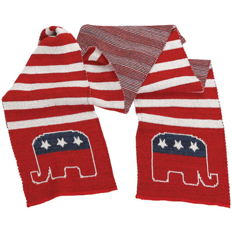 Republican Recycled Cotton Scarf