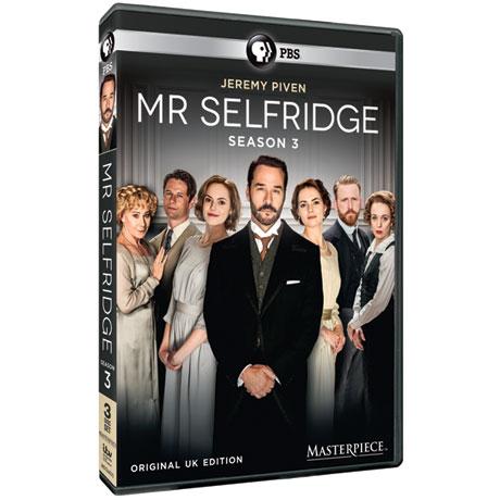 Mr. Selfridge Season 3 DVD or Blu-ray
