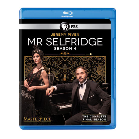Mr. Selfridge Season 4 DVD or Blu-ray - The Final Season - shipping May 17, 2016