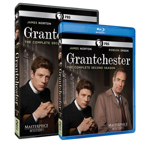 Grantchester Season 2 DVD or Blu-ray