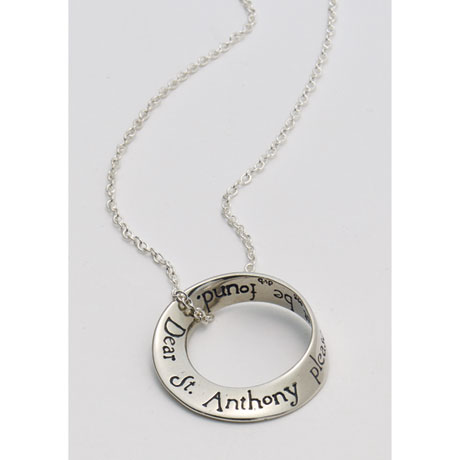 St. Anthony Mobius Necklace