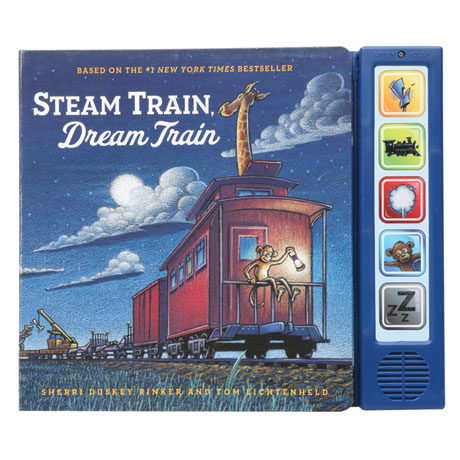 Steam Train, Dream Train Board Book With Sounds