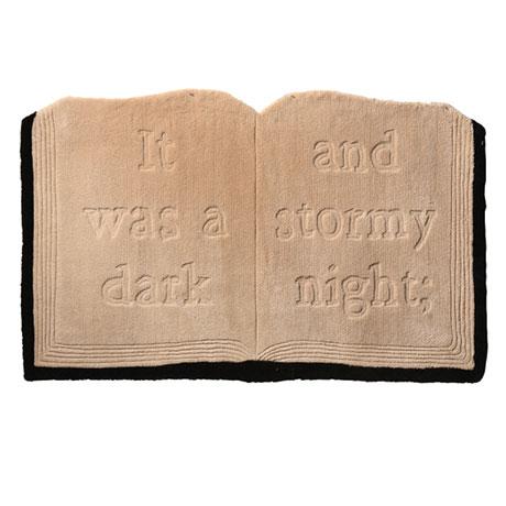 Open Book Rug
