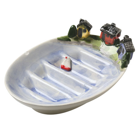 Lake Houses Soap Dish