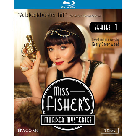 Miss Fisher's Murder Mysteries Series 1 DVD & Blu-ray