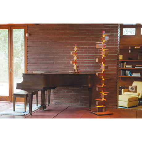 Frank Lloyd Wright® Taliesin 3 Table Lamp in Cherry or Walnut