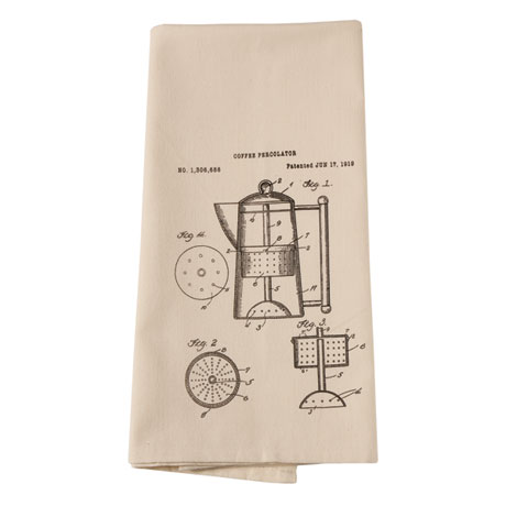 Kitchen Tools Patent Drawings Dish Towels