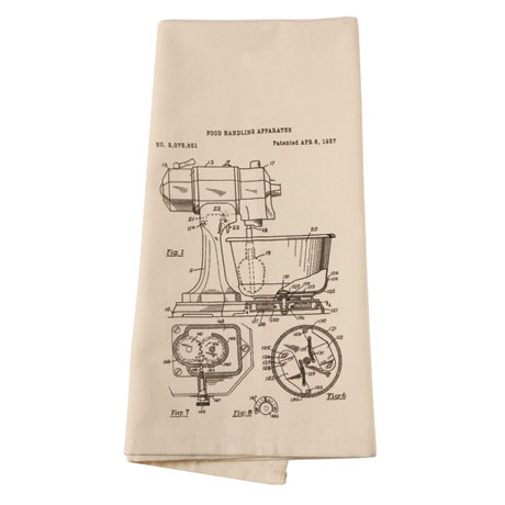 Kitchen Tools Drawings kitchen tools patent drawings dish towels at signals | hw0621