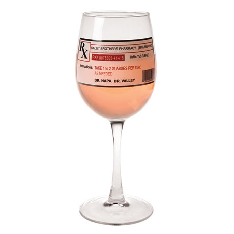 Prescription Wine Glass