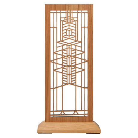 Frank Lloyd Wright Standing Tabletop Panel - Robie