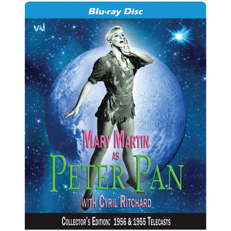 Peter Pan starring Mary Martin (1956) DVD and Blu-ray