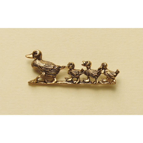 Make Way for Ducklings Brooch