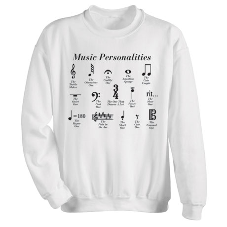 Music Personalities Shirts