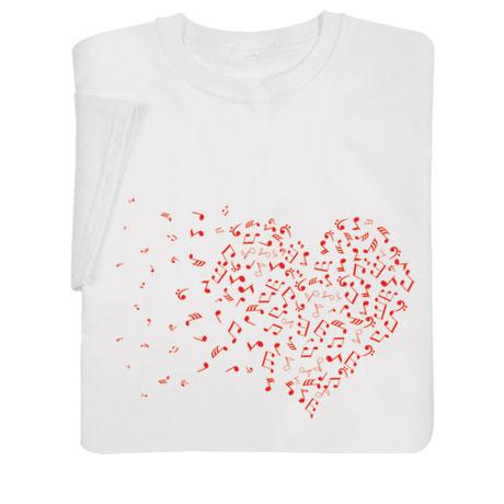 Music Heart Shirts