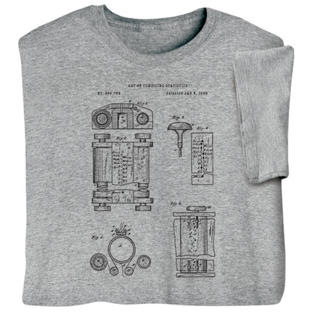 First Computer Patent Shirts