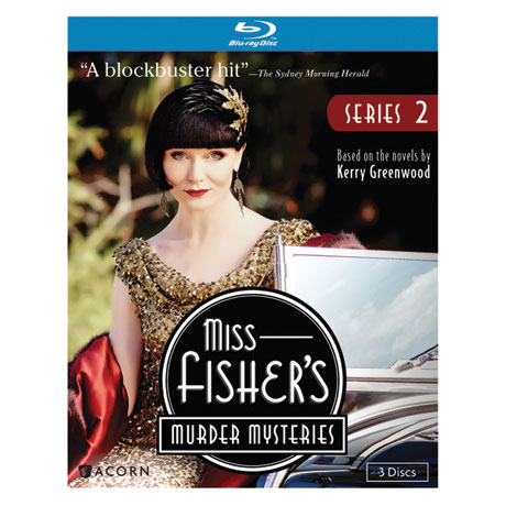 Miss Fisher's Murder Mysteries Series 2 DVD & Blu-ray