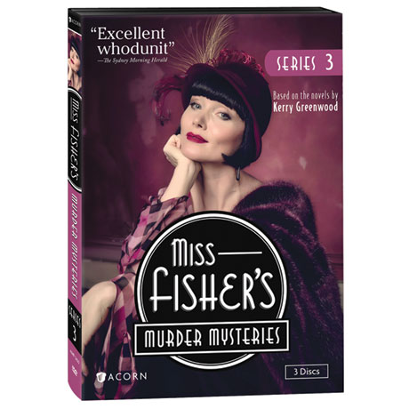 Miss Fisher's Murder Mysteries Series 3 DVD & Blu-ray