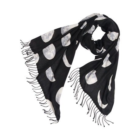 Moon Phases Scarf