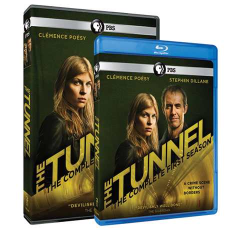 The Tunnel Season 1 (UK Edition) DVD & Blu-ray