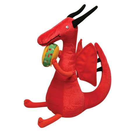Dragons Love Tacos: Plush Red Dragon