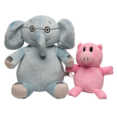 Elephant and Piggie Stuffed Toys