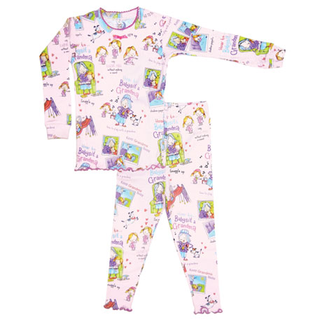 Children's How To Babysit A Grandma Pajama Set