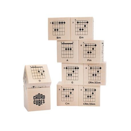 Guitar Chord Cube Blocks