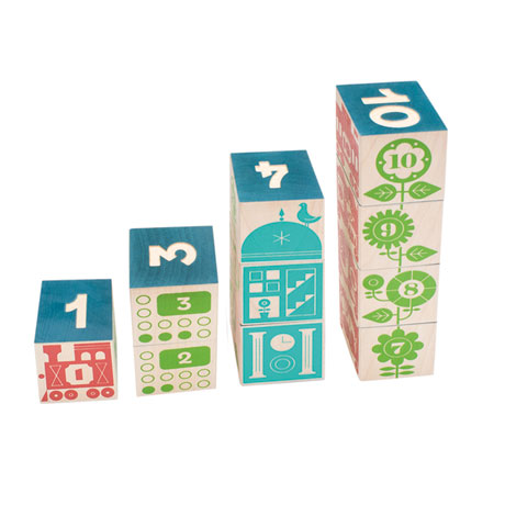 Count and Stack Blocks