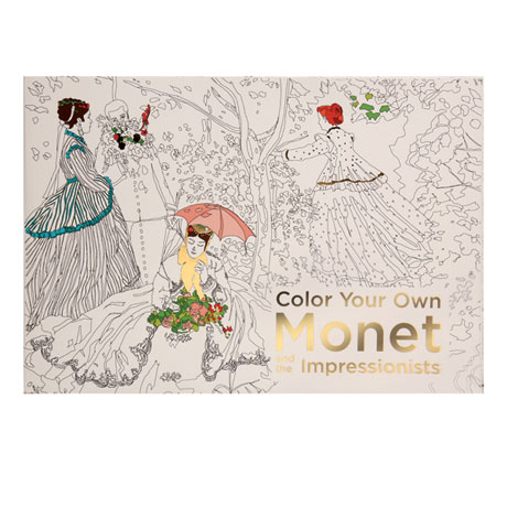 Color Your Own Monet Coloring Book