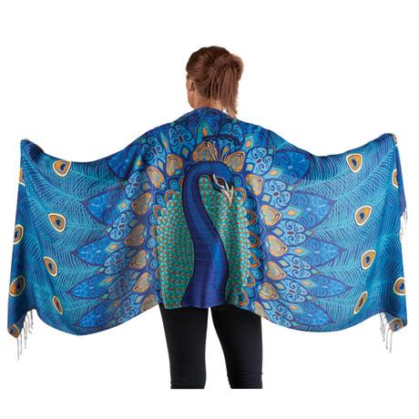 Peacock Wrap