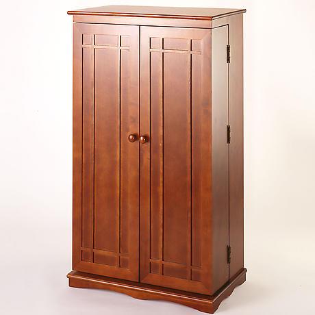 Solid Oak Media Storage Cabinet 5 Reviews 44 Stars Signals