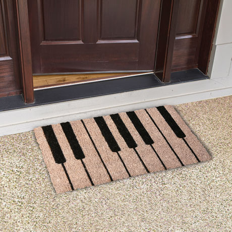 Piano Keys Doormat