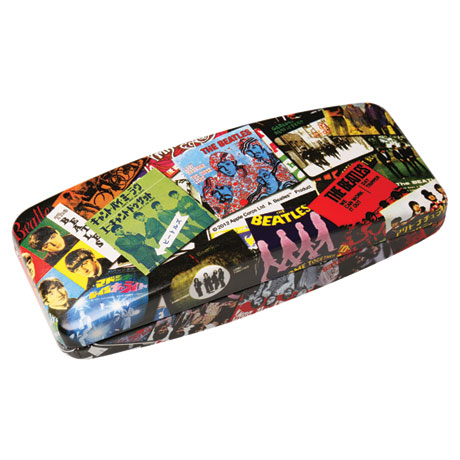 The Beatles Singles Designer Eyeglass Case